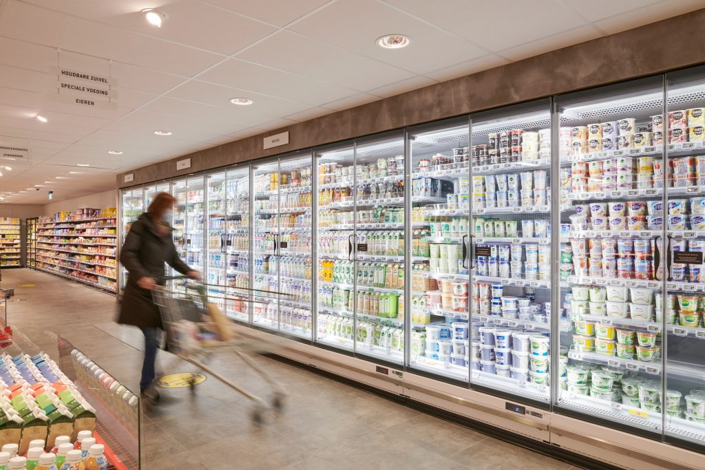 DekaMarkt Heemstede interieur koel