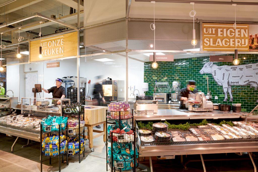 DekaMarkt Heemstede interieur slagerij