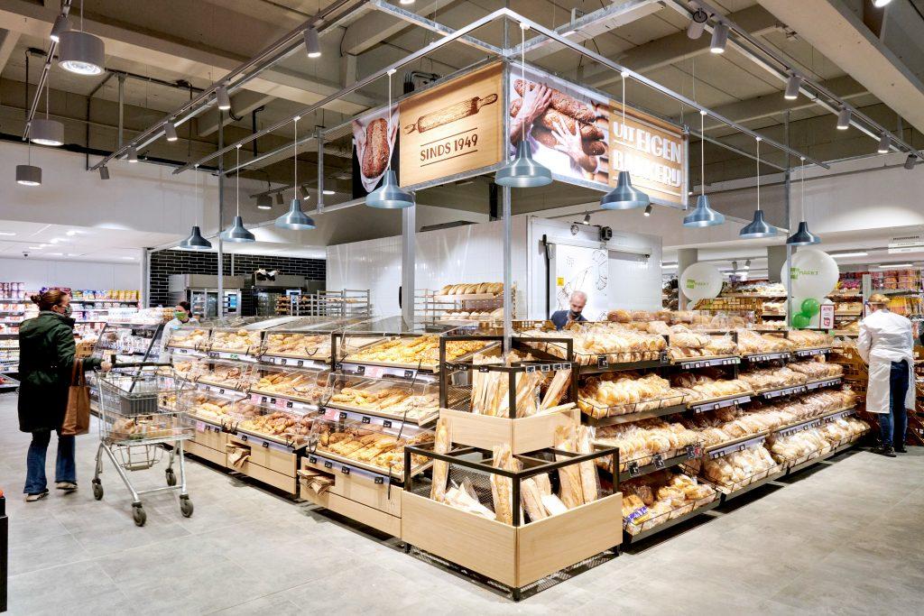 DekaMarkt Heemstede interieur bakkerij