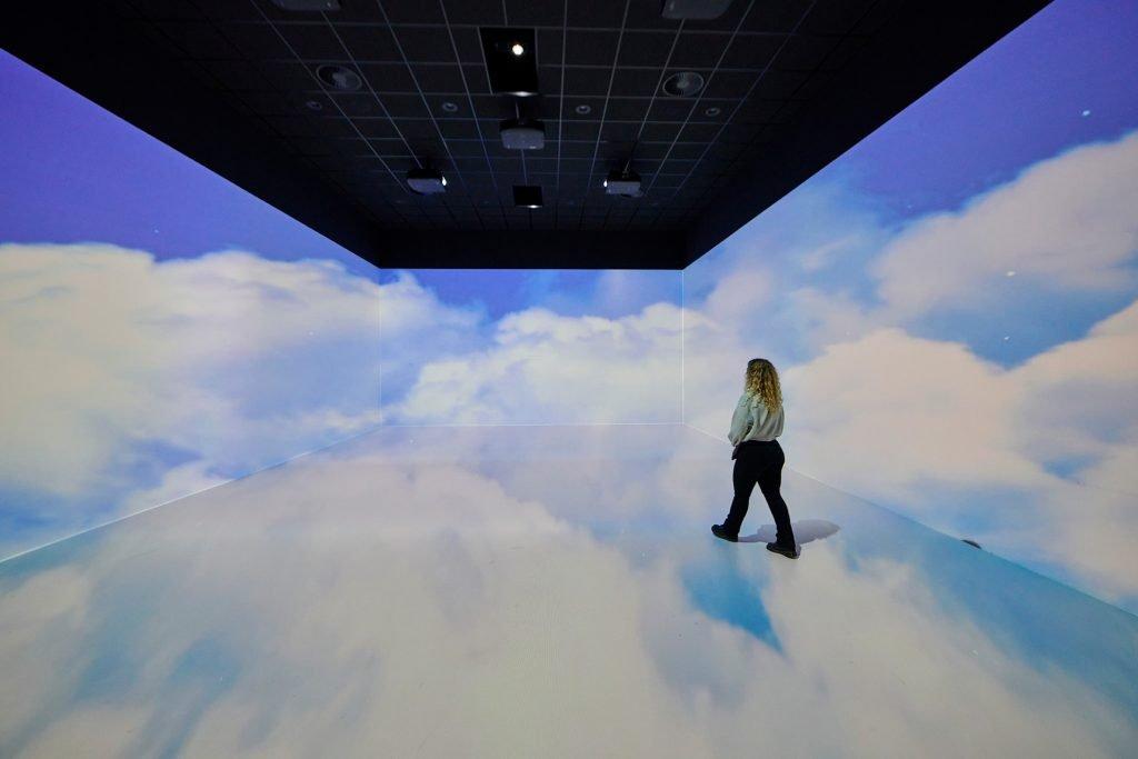 Homestudios interieur studio wolken