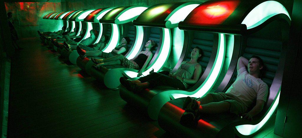 virtuele Heineken experience in stoel