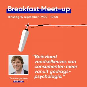 Breakfast Meet-up 15 September