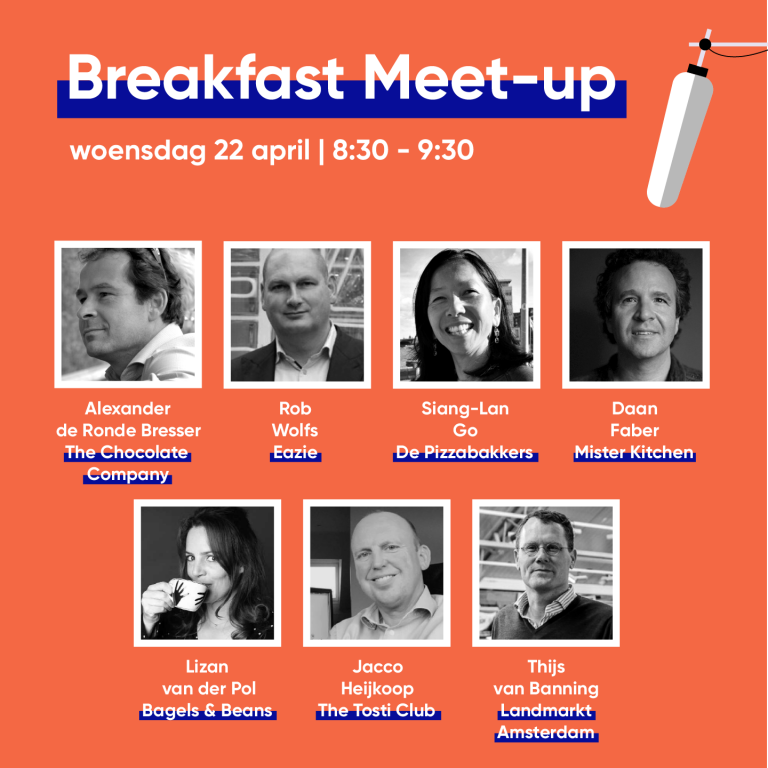 Breakfast Meet-up 22 April