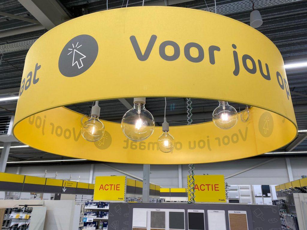 Praxis Hoogeveen interieur lamp