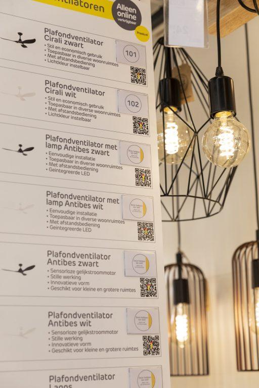 Praxis Hoogeveen interieur verlichting