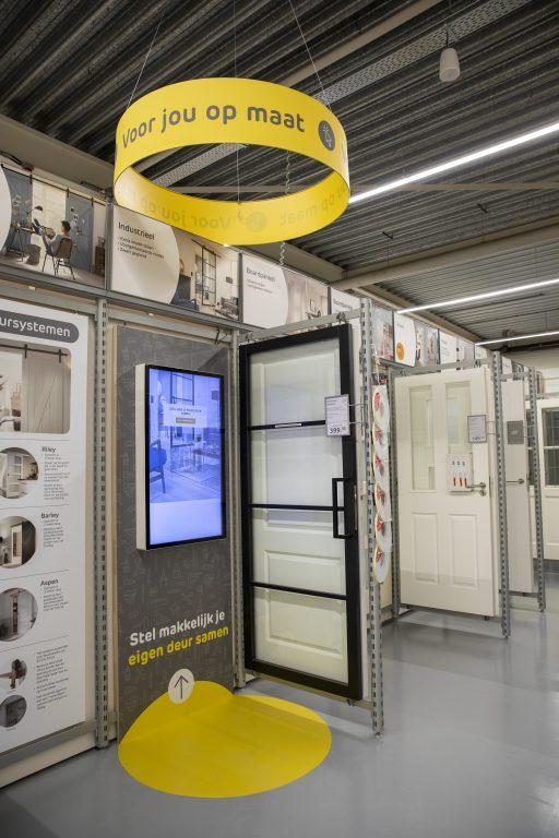 Praxis Hoogeveen interieur deuren configurator