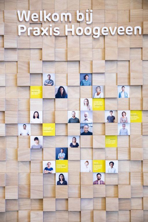 Praxis Hoogeveen interieur Makers wall